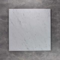 Carrara Honed Tiles - 610 x 610 x 10 mm